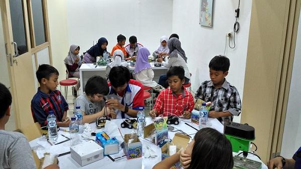 Kelas Workshop Pelatihan Robotika
