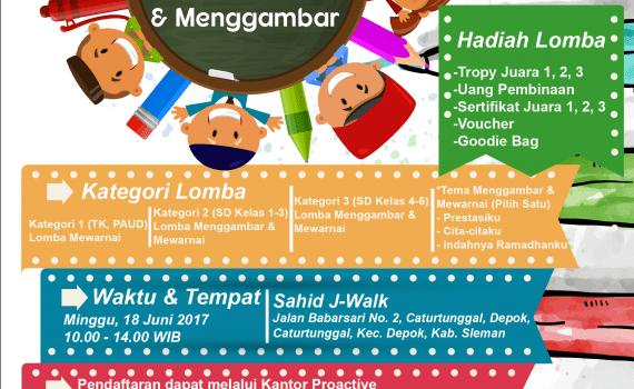 Lomba Mewarnai Dan Menggambar Di Yogyakarta Proactive